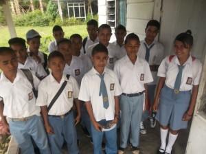 SMA-leerlingen Elpaputih