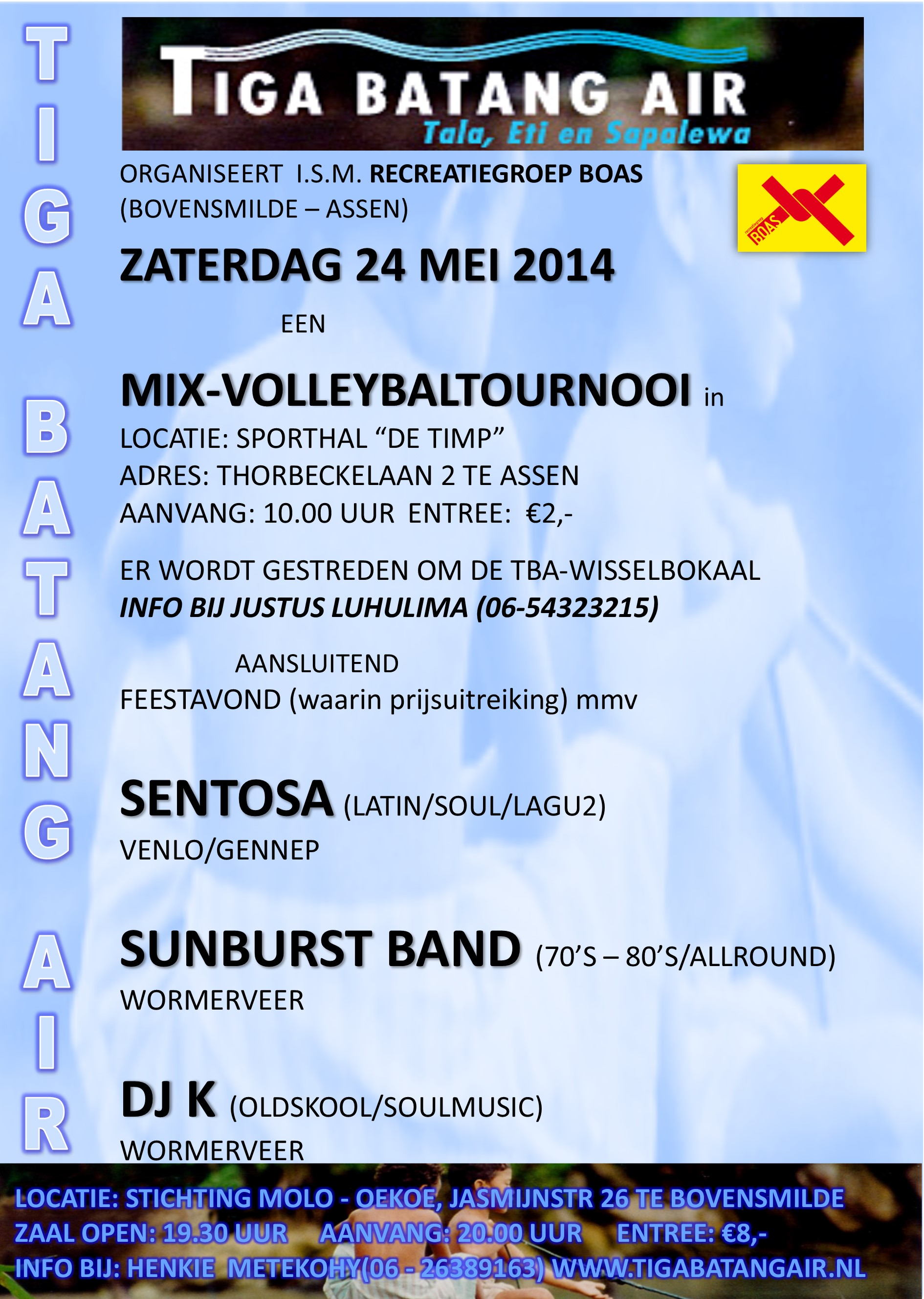TBA flyer 24 mei 2014